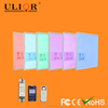 Shenzhen Ulior manufacotry 100W changeable led panel light dmx rgb led ceiling light 2x2 with 2.4G wireless