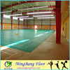 Indoor lychee design PVC badminton court sports flooring