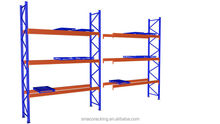 Easy to place commodities heavy duty scale pallet racking