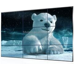 55 Inch 3.5mm Ultra Narrow Bezel Seamless DID LCD video wall,4K supported LED Video Wall, LED Backlight,3x3 video wall LOW PRICE