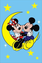 For Mickey and Minne DIY cartoon painting by number, over 2000 pictures available