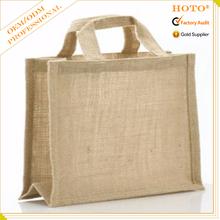 2015 fashion wholesale jute bag, jute shopping bag, jute bag crafts