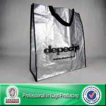 Custom Cheap Recycled Laminated PP Woven Tote Shopping Bag