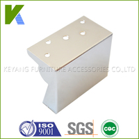 Manufactory Sale Chrome Metal legs For Furniture KYE018-8