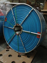 10 bar 250mm mining collapsible dewatering Saijun hose with grey cloth at size 12inch Linyi offer
