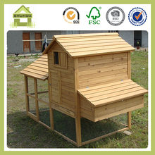 SDC01 Wooden Pets Coop Chicken Coop Nest Box Rabbit Hutch Backyard Poultry Cage Hen House