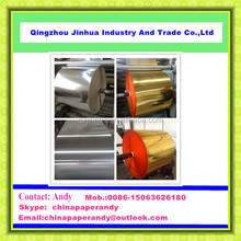 JH Series Gold & Silver Metallized Roll Paper For Exporting
