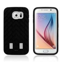 Slim hard PC TPU hybrid shockproof mobile phone cover armor case for samsung s6