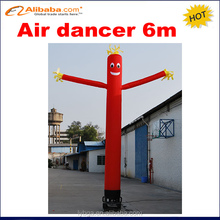 6m one leg inflatable air dancer for advertising,most popular inflatable advertising air dancer