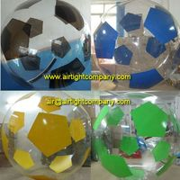 2015 Exciting inflatable water ball footballs, water walker, funballs for sale