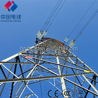2013 HEEME High quality steel electric power pole tower