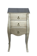 Furniture with 3 drawers European style bedside cabinet in cheap