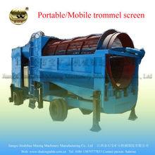 la pantalla de múltiples capas de la minería de oro sartenes