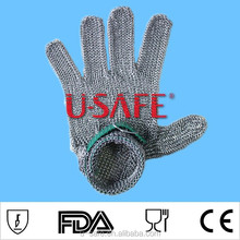 CE approved best metal safety gloves / hand protection gloves
