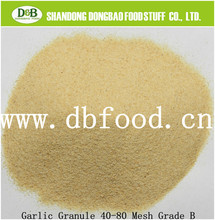 100% pure and nature organic garlic granule from factory wih wholesale price