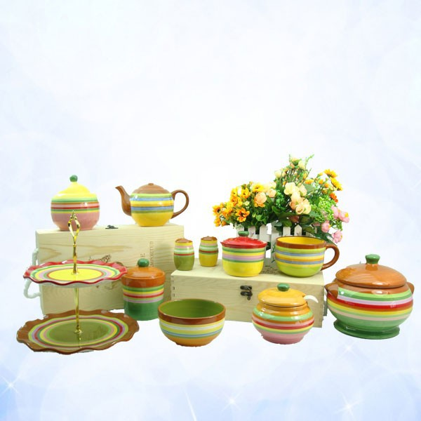 colorful ceramic kitchen tableware set buy ceramic
