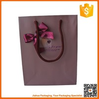 fancy paper gift paper bag with bow