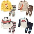 أطفال جملة الأزياء tz2035 الطفل الملابس الشتوية ملابس اطفال بنات أولاد الكرتون القطن منامة الطفل بالضيق
