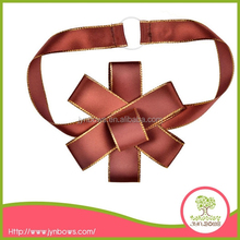 100%polyester Pre-made Custom Packing Ribbon Bow,gift bow,box bow
