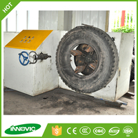 Waste tire shredding machine/used tire cutting machine for sale