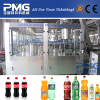 Automatic plastic Bottle Carbonated Soft Drink Bottling Machine / Plant Manufacturers