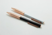 2015 new style gold metal ball pen for gift , promotional pen