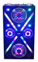 Professional active stage speaker / Karaoke music system big Stage speaker with disco light