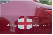 England Car Fuel Cap Cover for Car Promotional Events