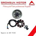 Magneto de respuestos de motocicleta para AKT TT150