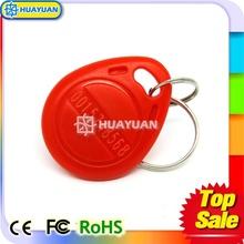 Custom Printing MIFARE Classic 1K RFID Electronic key fob for door lock access