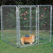 Galvanized welded wire dog kennels