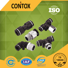 High quality plastic material quick connection pneumatic hose fitting