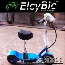 Personal transportation 24V 10AH Lithium battery electric scooter