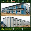 ISO certification low cost sandwich panel prefabricated steel frame house