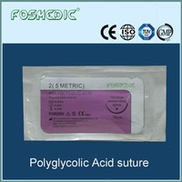 Synthetic absorbable surgical suture of Polyglycolic Acid,PGA suture