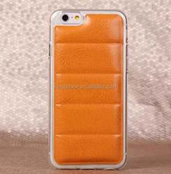 for iphone 6 TPU leather soft cell phone case