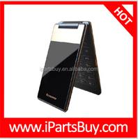 dropship Lenovo A588t 4 Inch TFT Screen, Android 4.4 4GB Vertical Flip Smart Phone, MTK6582M Quad Core Dual SIM, GSM Network
