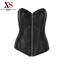 Wholesale Sexy Fitness sex women photo steel boned corset zipper waist training corsets