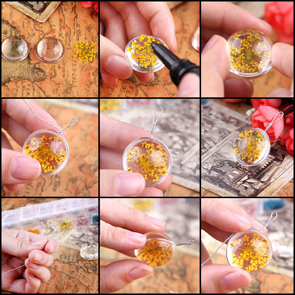 Clear Liquid Doming Epoxy Resin For Flower Pendant Buy