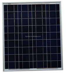 HQ High efficiency 70w Poly crystalline solar panel with TUV,CE,ISO,MCS,UL,ROHS