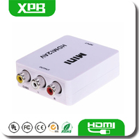 Audio 1080P HDMI TO VGA Converter for PC Laptop to HDTV