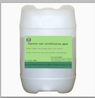 liquid concrete thickener for the parking lot surface (floor hardener)