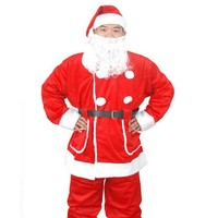 SD0010 Wholesale Full Traditional Christmas Costume For Men