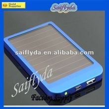 hot selling mobilephone 2600mAh solar charger