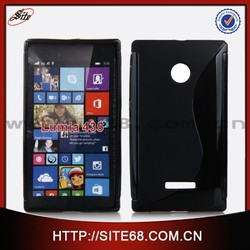 Solid S line tpu case cover for Nokia lumia 435