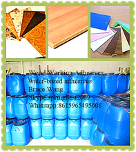 MILKY WOOD WORKING ADHESIVES FOR VERNEER ,DECORATION PAPER
