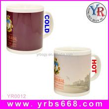 ceramic mug with water pen marker