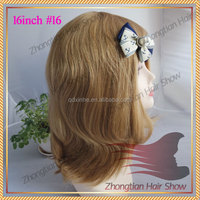 Hot selling 100% human hair jewish wig european hair