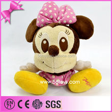 Children toy,stuffed mouse toy,shy minnie toy
