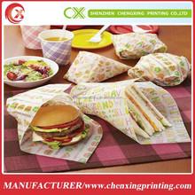 Food Grade Kraft Sandwich Wrapping Paper